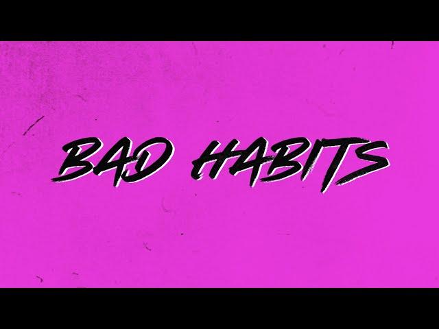 Ed Sheeran - Bad Habits [Official Lyric Video]