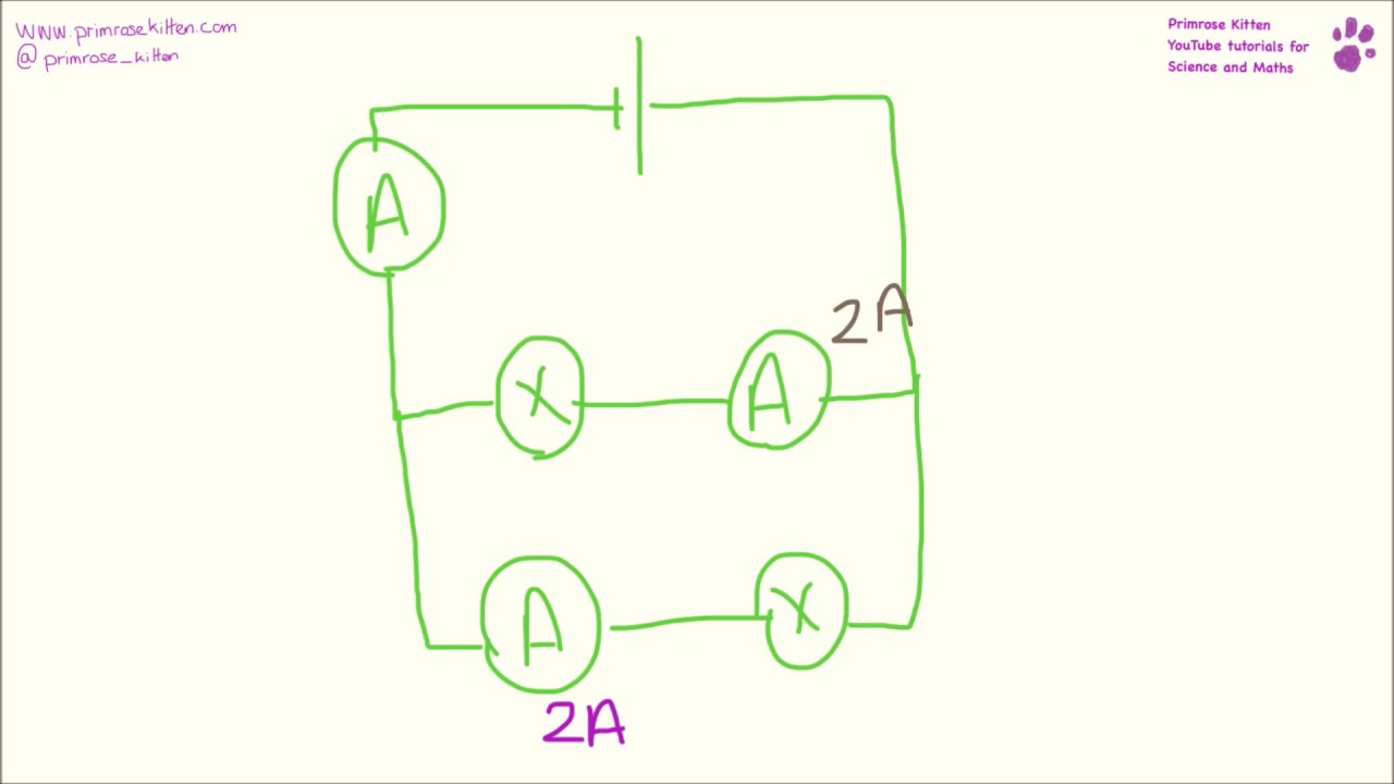 hight resolution of current and potential difference in series and parallel circuits questions