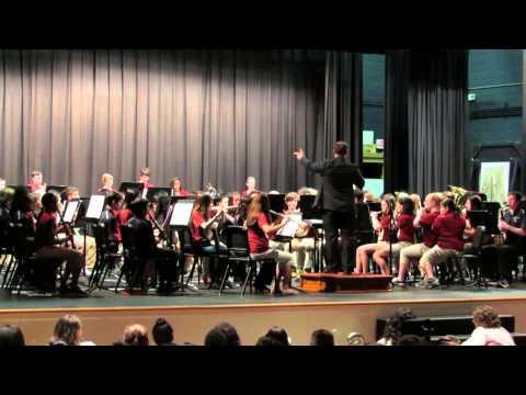 Winkler Middle / J. N. Fries School Bands -- Afterburn