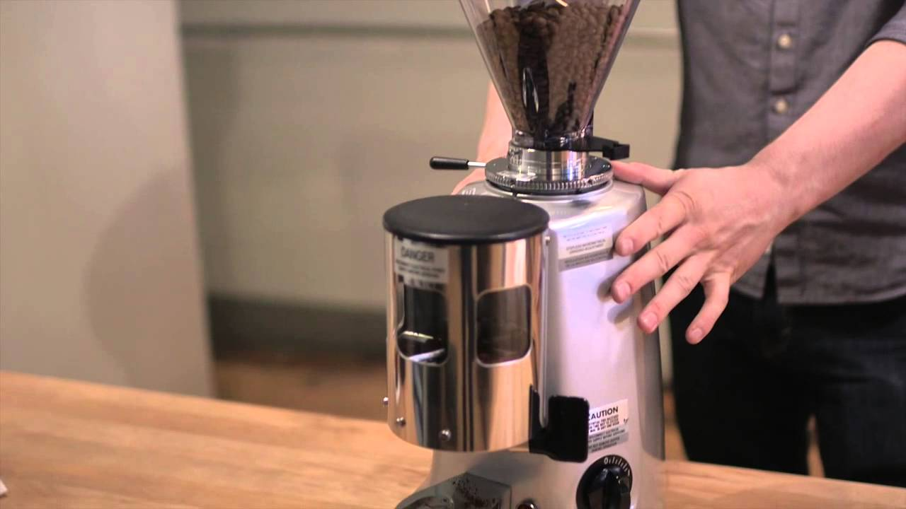 mazzer super jolly espresso flat burr grinder with doser. Black Bedroom Furniture Sets. Home Design Ideas