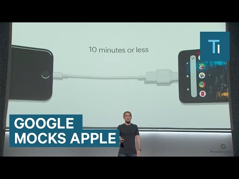 Thumbnail: Google made fun of Apple products – even the new iPhone