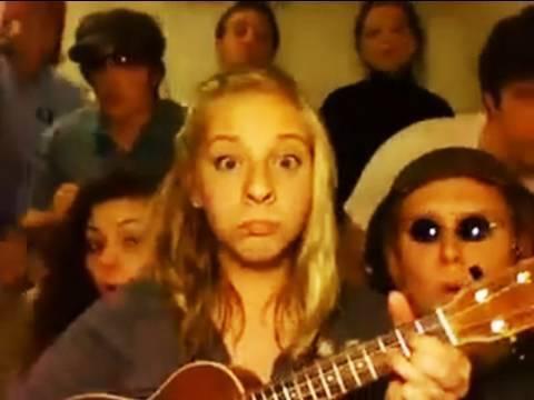 Build Me Up, Buttercup on ukulele