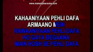 Pehli Dafa Video Karaoke | Atif Aslam