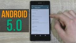 [DEUTSCH] Wie installiert man Android 5.0