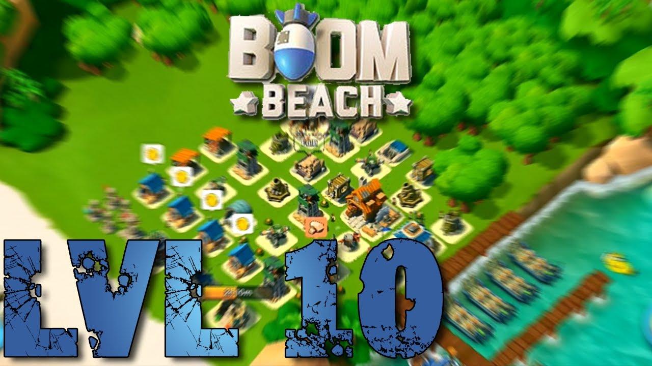 boom beach defense base