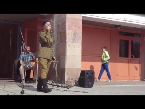 Праздничный концерт на 9 мая.Новосибирск.Festive concert on 9 maya.Novosibirsk