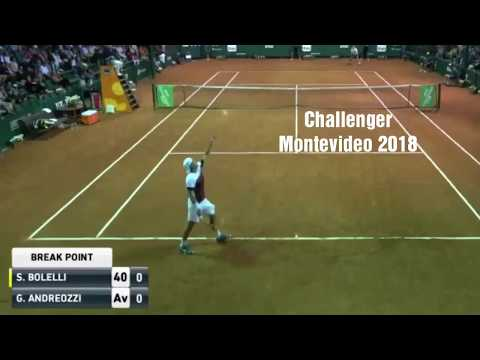 Simone BOLELLI VS Guido ANDREOZZI - CHALLENGER MONTEVIDEO 2018 - Highlights (HD 720)