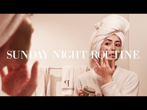 My Sunday Night Routine | Relax, Recharge, Reset