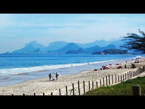 Piratininga Beach in Niteroi - Rio de Janeiro, Brazil
