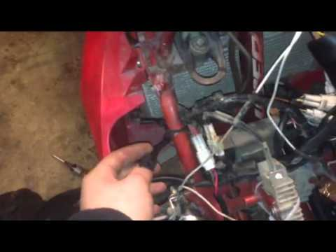How to wire up after market headlights - YouTube