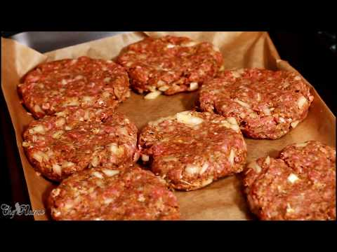 How To Make The World Best Beef Burger Recipe By  | Chef Ricardo Cooking