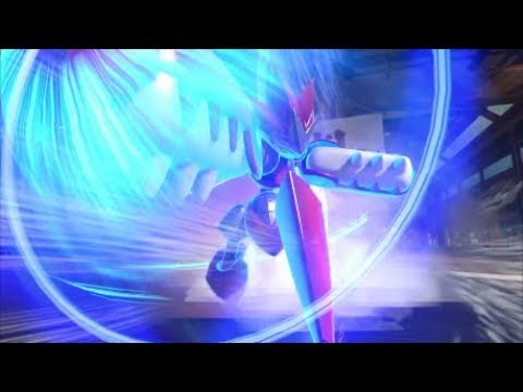 Pokken Tournament DX - Scizor Combo Exhibition - YouTube