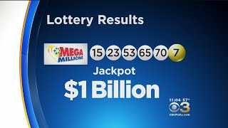 Winning Numbers Drawn For $1 Billion Mega Millions Jackpot