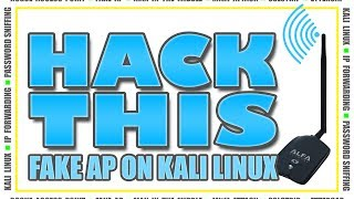 how to create a fake access point on kali linux rogue ap mitm attack