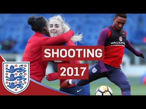 Best of Shooting in Training 2017! | Featuring Jermain Defoe, Marcus Rashford and Alex Greenwood