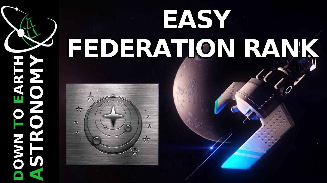EASY FEDERATION RANK | ELITE DANGEROUS