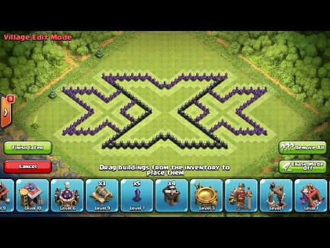 Base Coc Th 8 Triple X 5