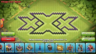 CLASH OF CLANS TH8 AWESOME FARMING BASE | TRIPLE X |