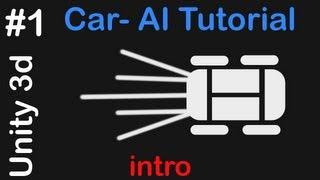 #1 Car AI - Unity 3D Tutorial - Intro