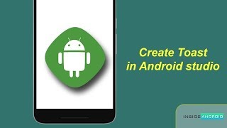 Create Toast in Android Studio| Android Tutorial