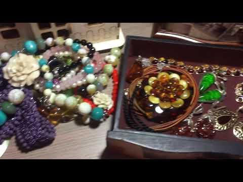 Мои серебряные украшения с натуральными камнями