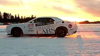 Dodge Challenger Hellcat - World Record On Ice (Extended video)