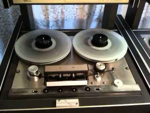 Ampex tape transport