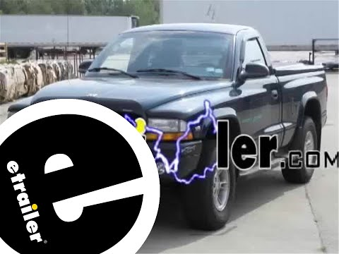 hqdefault trailer wiring harness installation 1998 dodge dakota etrailer CRS Hose 2001 Dodge Durango at nearapp.co