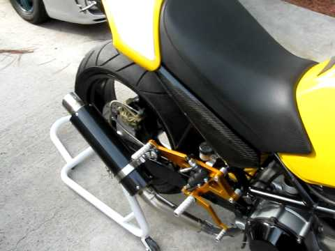 Ducati Monster Dan Moto Exhaust Youtube