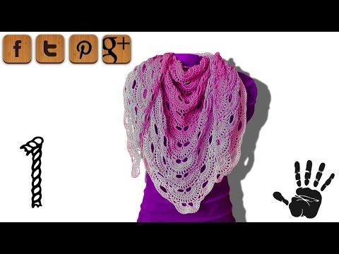 Virus shawl crochet tutorial part 1 – Woolpedia®
