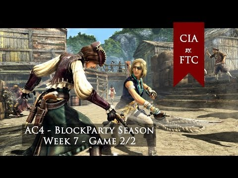 AC4 AA - Block Party Season - Week 7 - CIA vs FTC game #2 DUAL POINT OF VIEW
