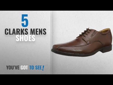 Top 10 Clarks Mens Shoes [2018]: Clarks Tilden Walk, Men's Derby