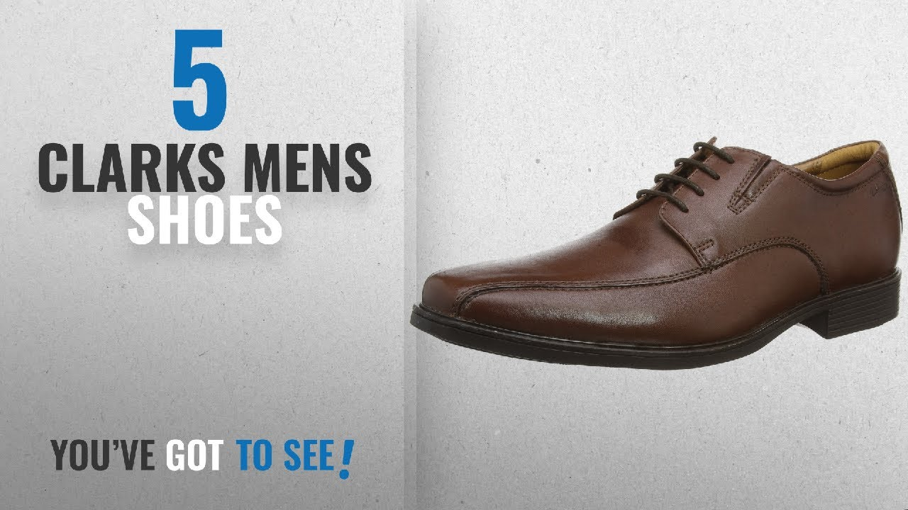 883f7fae22159 Top 10 Clarks Mens Shoes  2018   Clarks Tilden Walk