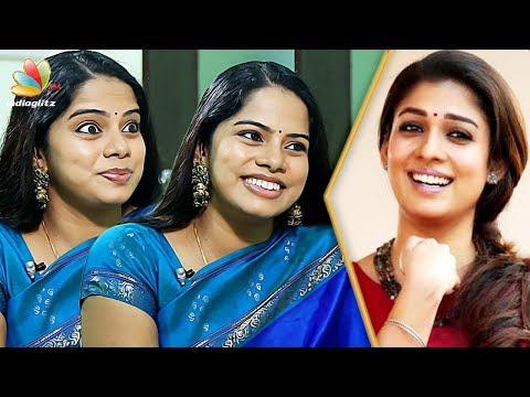 Download Youtube: Aambalaiya iruntha veliya va da! : Deepa Venkat Interview | Nayanthara Aram Dubbing