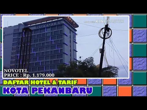 Daftar Hotel Dan Tarif Di Kota Pekanbaru Riau (tra
