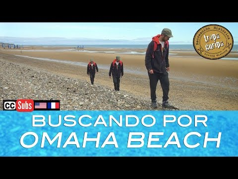 SEARCHING D-DAY RELICS ON OMAHA BEACH (Normandy)