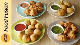 Pakoras with Leftover 4-Ways Recipe By Food Fusion (Ramzan Special Recipe)