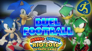 ABM: Sonic vs Jet !! Mario & Sonic at the Rio 2016 Olympic Games (Duel Football) HD