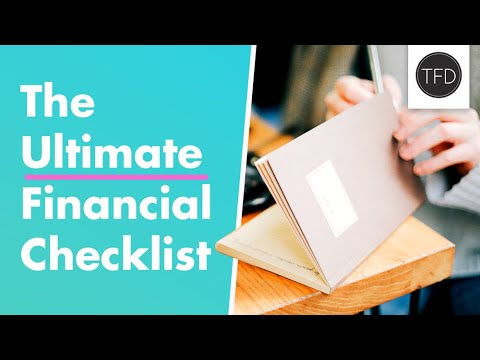 The 20-Point Checklist For Getting Good With Money In Your 20s | The Financial Diet