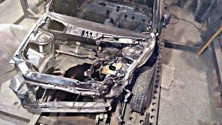 Лада Гранта.Кузовной ремонт после лобового удара.Часть 1(Кузовной ремонт Лада Гранта в гараже. Часть 2(продолжение):https://youtu.be/kQDxaLLP1_k., 2016-07-27T20:50:34.000Z)
