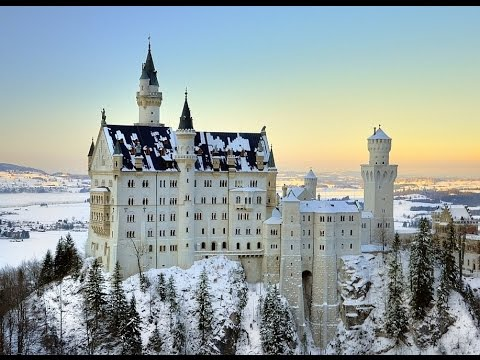Top 10 attractions and beautiful places in Bavaria (Germany)