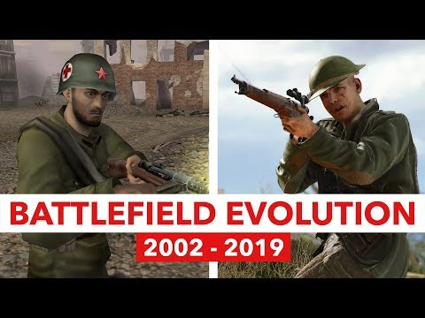 BATTLEFIELD Evolution From 2002 To 2019 - Console & PC Multiplayer Gameplay