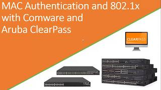 MAC and 802.1X authentication with Comware 5 and 7 and ClearPass