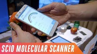 Phone with a molecular sensor