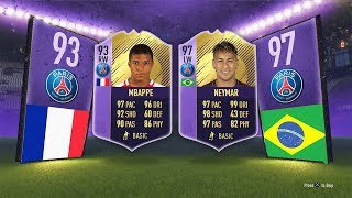 97 SBC NEYMAR / 93 SBC MBAPPE! - Ligue 1 Player of the Year SBC FIFA 18 Ultimate Team
