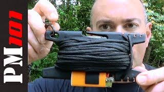 The Spool Tool: Essential Survival Cordage Manager!  - Preparedmind101