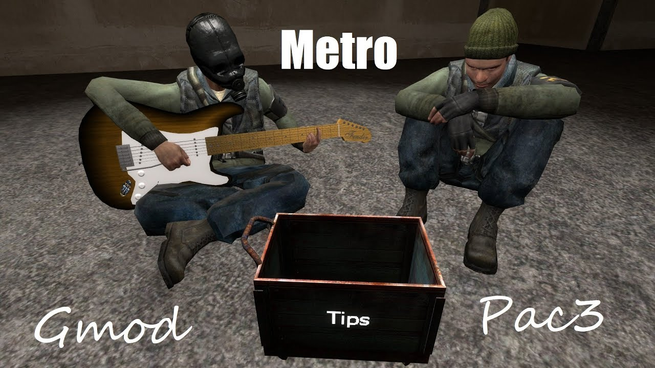 [Gmod] Pac3 Metro Outfits Showcase {DOWNLOADS}