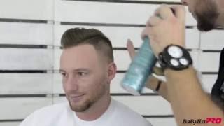 Nowoczesna fryzura męska ze stylistą BaByliss PRO