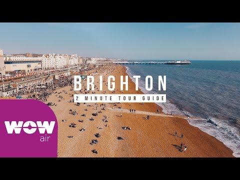 WOW AIR Travel Guide Application - Brighton