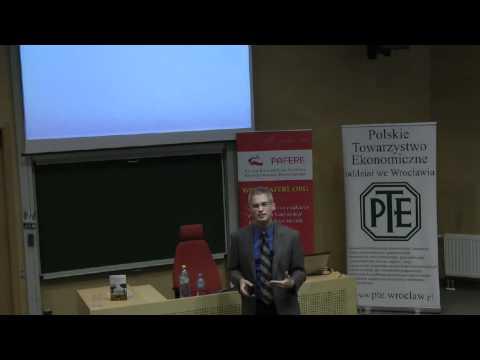 Wykład prof. Victora Claara na Uniwersytecie Wrocławskim cz.1